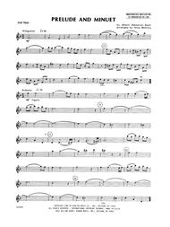 Prelude And Minuet - Flute 2