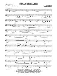 Dona Nobis Pacem - Bass Clarinet
