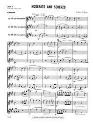 Moderato And Scherzo - Full Score