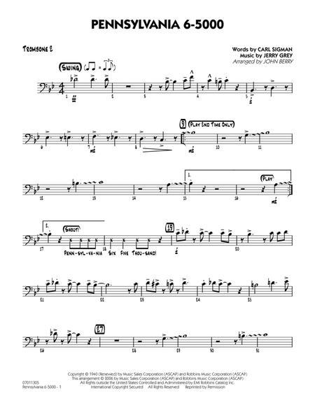 Pennsylvania 6-5000 - Trombone 2