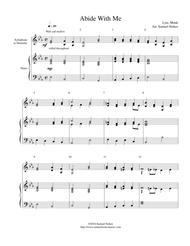 Abide With Me - xylophone/marimba with piano accompaniment