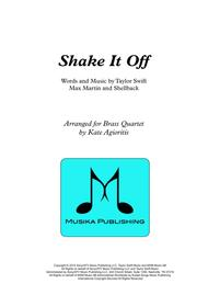 Shake it Off - for Brass Quartet