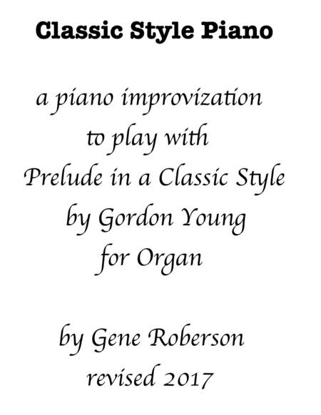 Piano Duet with Classic Organ