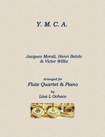 Y.M.C.A for Flute Choir, Piano, and Optional Beatbox Flute
