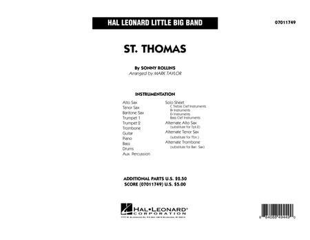St. Thomas - Full Score