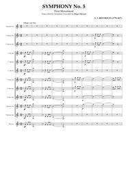 Symphony No. 5 for Saxophone Ensemble