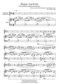let it go frozen trombone sheetmusic
