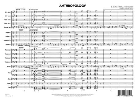 Anthropology - Conductor Score (Full Score)