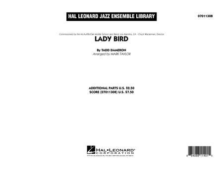 Lady Bird - Conductor Score (Full Score)