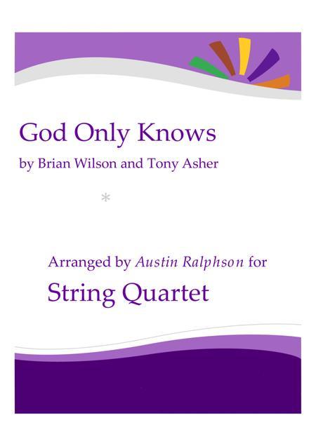 God Only Knows - string quartet