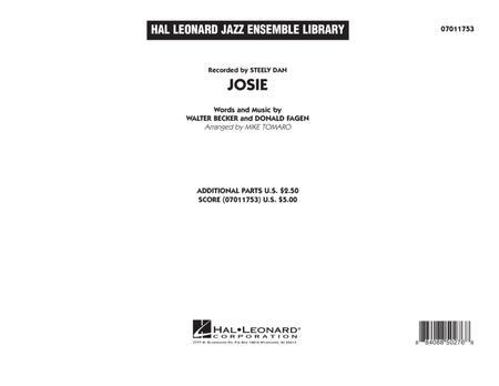 Josie - Conductor Score (Full Score)