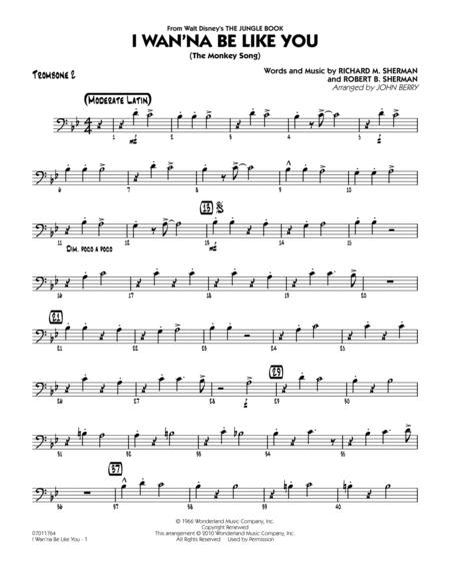 I Wan'na Be Like You (The Monkey Song) - Trombone 2