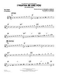 I Wan'na Be Like You (The Monkey Song) - Eb Solo Sheet