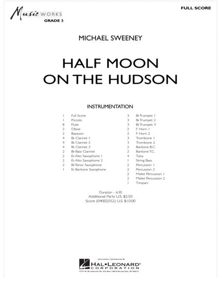 Half Moon On The Hudson - Full Score