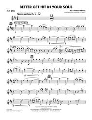 Download Better Get Hit In Your Soul - Alto Sax 1 Sheet