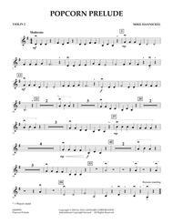 Popcorn Prelude - Violin 2