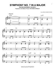 Symphony No. 7 In A Major, Second Movement (Allegretto)
