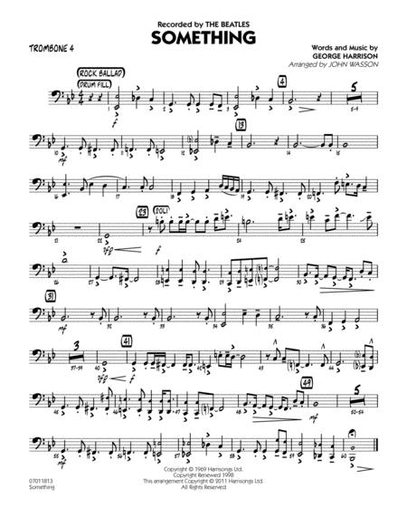 Something - Trombone 4