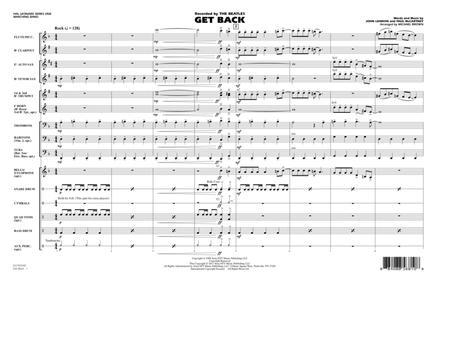 Get Back - Full Score