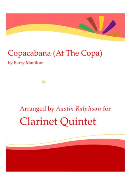 Copacabana (At The Copa) - clarinet quintet