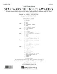 Selections from Star Wars: The Force Awakens - Conductor Score (Full Score)