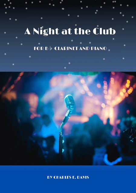 A Night At The Club - B Flat Clarinet and Piano