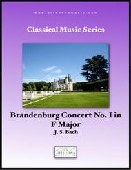 Brandenburg Concerto No 1 in F Major, BWV 1046