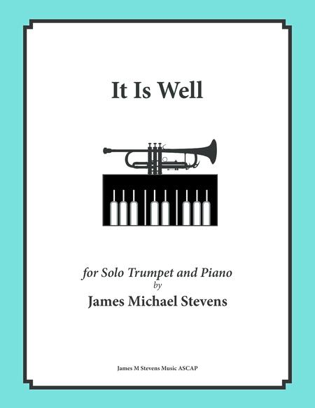 It Is Well (Solo Trumpet & Piano)