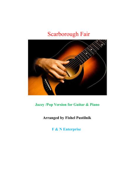 Scarborough Fair-Jazzy/Pop Version (Guitar+Piano)