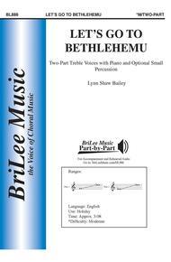 Let's go to Bethlehemu