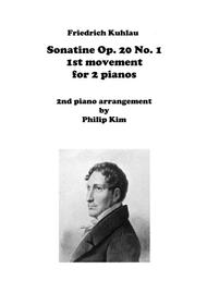 F. Kuhlau Sonatine Op. 20 No. 1 First Movement for 2 Pianos
