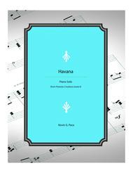Havana - piano solo