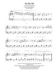 Do-Re-Mi - for early intermediate piano