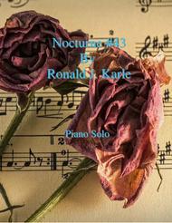 Nocturne #43