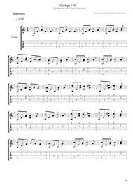 Cantiga 119 (Medieval)