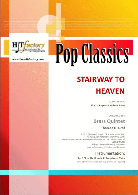 Stairway to heaven - Rock-Classic by Led Zeppelin - Brass Quintet