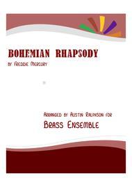 Download Bohemian Rhapsody - Brass Ensemble Sheet Music By Queen