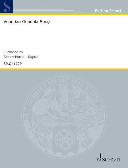 Venetian Gondola Song