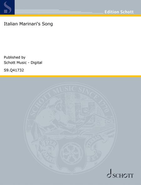 Italian Marinari's Song
