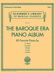The Baroque Era Piano Album