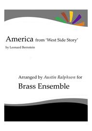 America from 'West Side Story' - brass ensemble