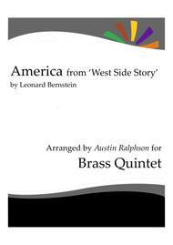 America from 'West Side Story' - brass quintet