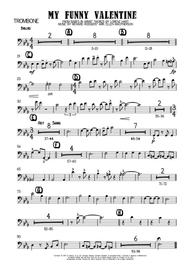 Download My Funny Valentine Trombone Sheet Music By Elvis Costello