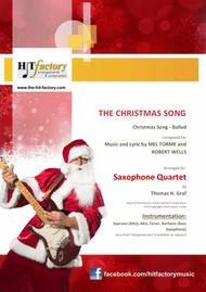 The Christmas Song - (Chestnuts Roasting On An Open Fire) - Saxophone Quartet