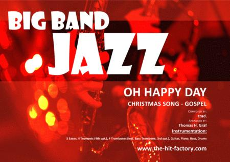 Download Oh Happy Day - Christmas Song - Gospel - Big Band Sheet