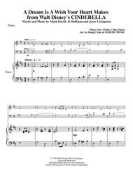 A Dream Is A Wish Your Heart Makes from Walt Disney's CINDERELLA for Piano Trio