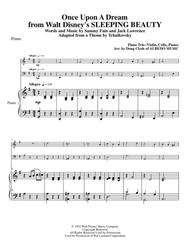 Once Upon A Dream from Walt Disney's SLEEPING BEAUTY for Piano Trio