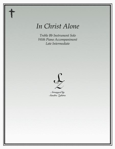 In Christ Alone (treble Bb instrument solo)