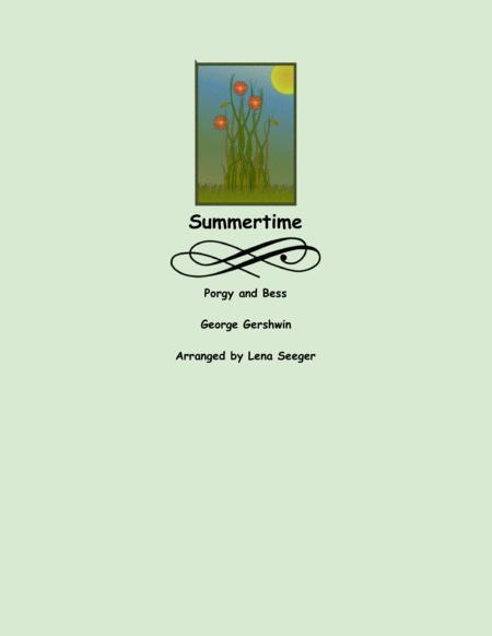 Summertime for Alto Sax and Piano