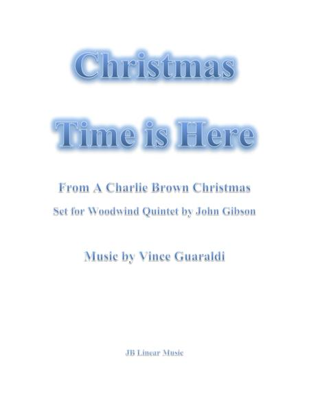 Christmas Time is Here from A Charlie Brown Christmas for Woodwind Quintet